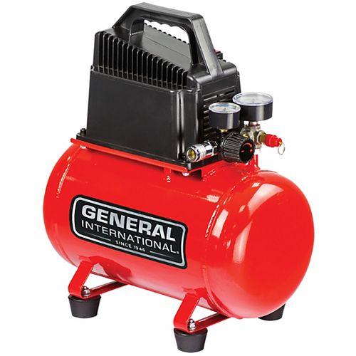 1/3Hp 3 Gal. Hot Dog Oil-Free Electric Air Compressor