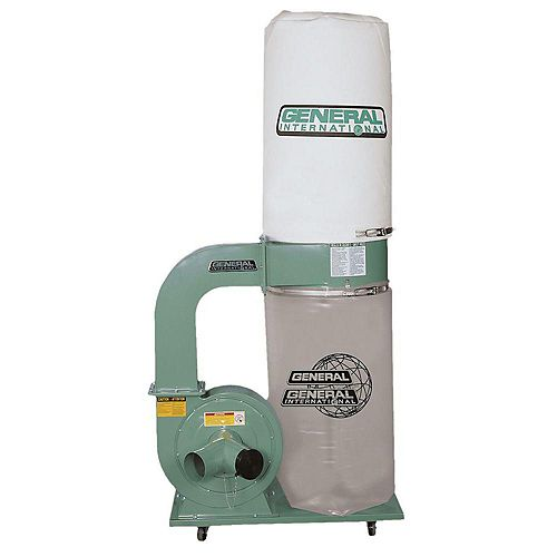 General International 2Hp Industrial Dust Collector