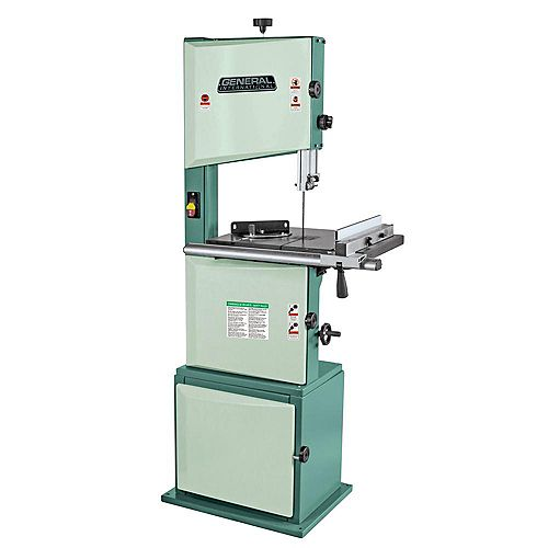 General International 14 inch Wood Cutting Band Saw- 1 Hp