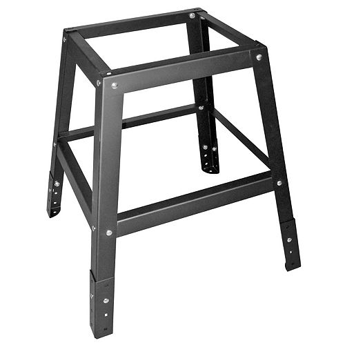 General International Scroll Saw Solid Steel Adjustable Height Stand - Fits Ex-16 & Ex-21