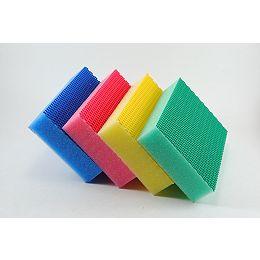 Evo Heavy Duty Non Scratches Scrub Sponge (8 - Piece couleurs assorties)