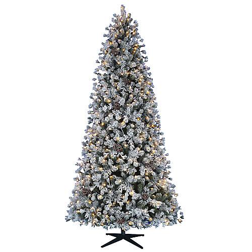 Pin de Noël Lexington artificiel de 9pi pré-illuminé avec 500 à DEL et 5options d'éclairage