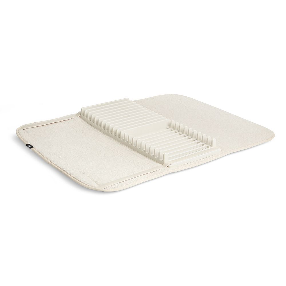 Umbra UDRY Dish Drying Rack and Microfiber Dish Mat