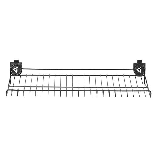 30-inch W x 15-inch D Ventilated Shoe Shelf for GearTrack or GearWall