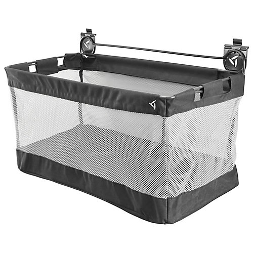 24-inch W x 12-inch D Mesh Basket Garage Storage for GearTrack or GearWall