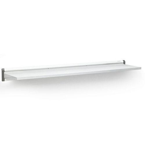Premier Series 48-inch W x 12-inch D Steel Garage Shelf in White