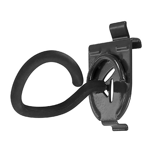 Fishing Pole Holder Garage Hook for GearTrack or GearWall (2-Pack)