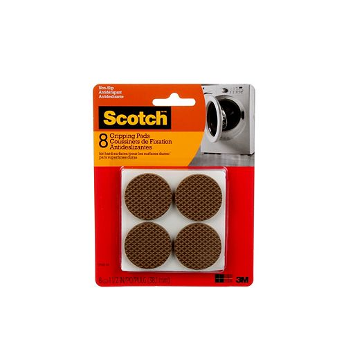 Gripping Pads, SP940-NA, brown, 1.5 inch (3.81 cm), 8 per pack