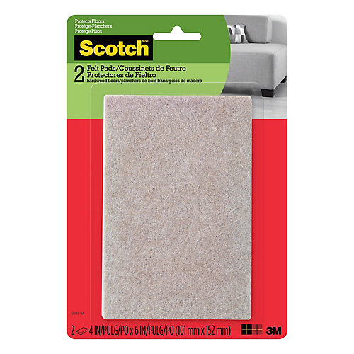 SP810-NA Easy Cut Felt Pads Beige