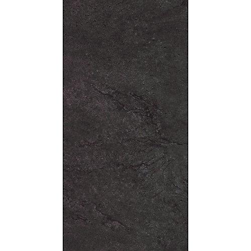 Échantillon - Carreau de revêtement au sol, vinyle de luxe, 12 po x 24 po, gris Veiled