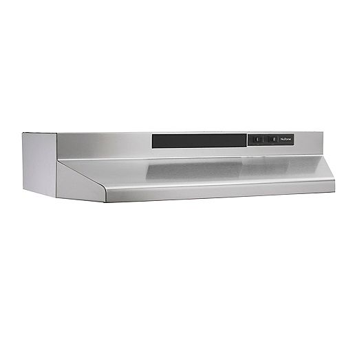 30-in 160 CFM Under cabinet range hood in stainless steel