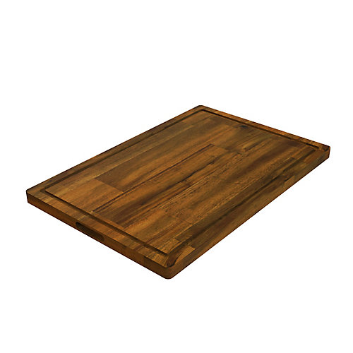 16 inch x 24 inch x 1 inch Butcher Block Cutting Boards Brown