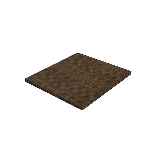 INTERBUILD 12 inch x 16 inch x 1.5 inch Butcher Block Cutting Boards Brown