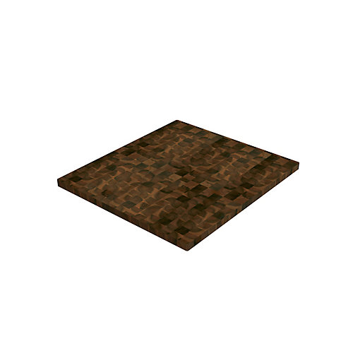 Acacia Hardwood Countetop, 72 inch x 25.5 inch x 1 inch, Organic White Hardwax Oil Food-Safe Finish