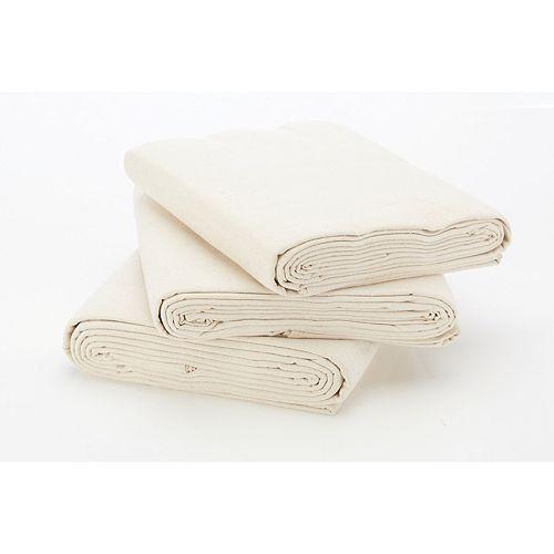 Stain Pro Heavy Duty Cotton Canvas 9ft x 12ft (2.74m x 3.66m) Drop Cloth (3-Pack)