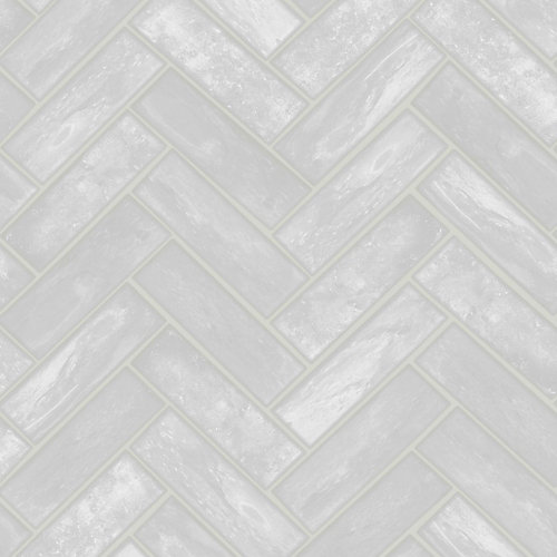 Lustro Grey Removable Wallpaper Sample