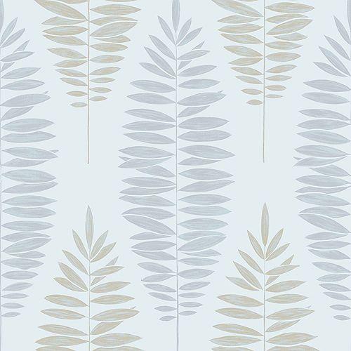 Lucia Aqua/Green Removable Wallpaper Sample