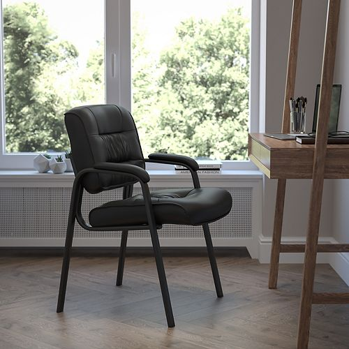 Flash Furniture Executive Leather Side Chair