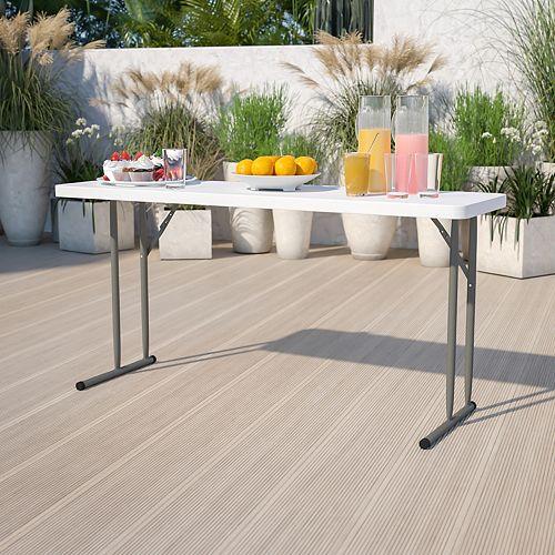 Flash Furniture 18x60 Folding Training Table