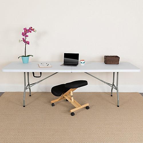 30-inch x 96-inch Plastic Bi-Fold Table