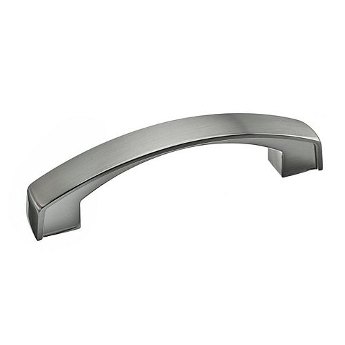 Richelieu Boisbriand Collection 12 5/8-inch (320 mm) Center-to-Center Brushed Nickel Transitional Cabinet Pull