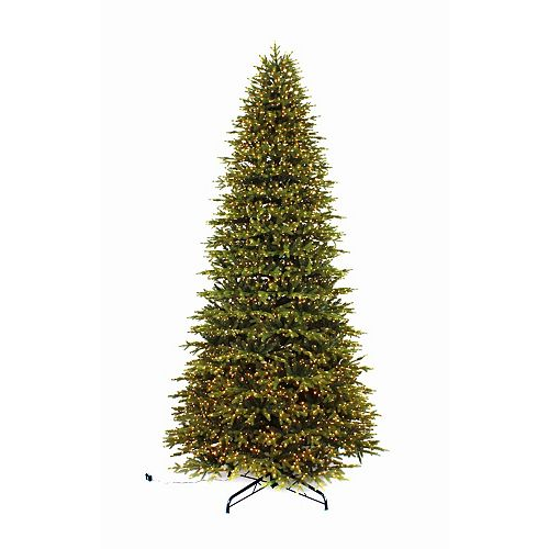 12 ft. 5000 Micro-Dot LED-Lit Aspen Fir Christmas Tree