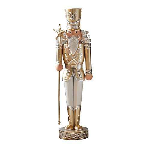 4 ft. Nutcracker Figure Christmas Decoration
