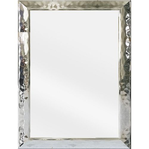 Tangerine Mirror Co Hudson 24-inch x 36-inch Chrome Vanity Mirror