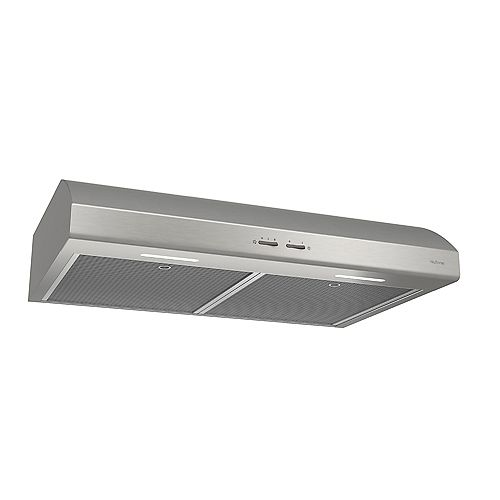 Under Cabinet Range Hoods OSMOS Series 250 CFM 30IN Stainless Steel