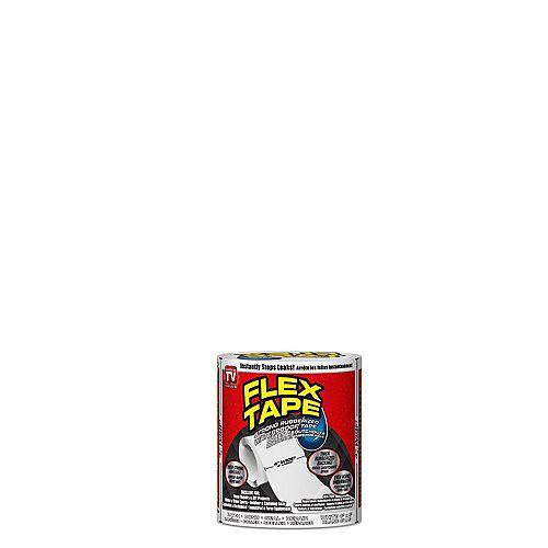 4 inch x 5 ft. Tape in White