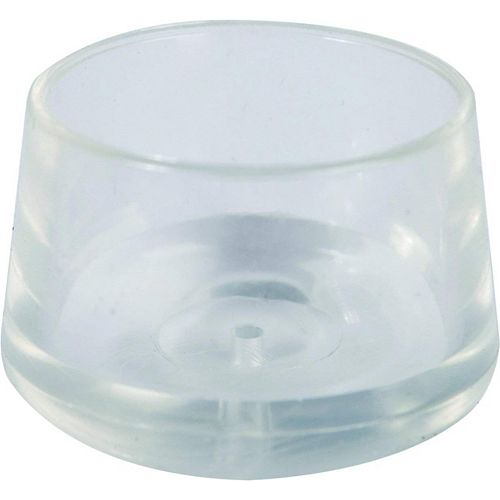 3/4-inch Clear Leg Tips (4-Pack)