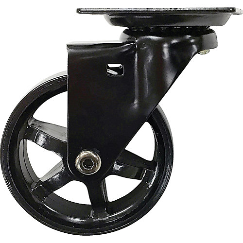 75mm Mag Designer Casters, Black Bling