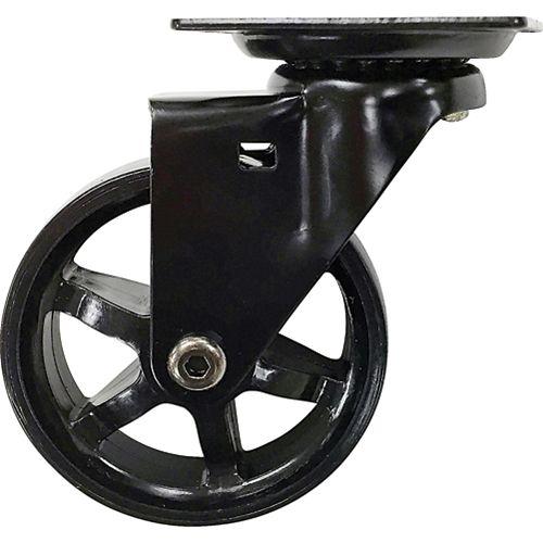 Designer Premium Series 3-Inch Mag Designer Casters, Black Bling