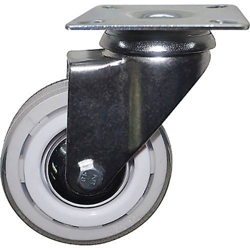3-Inch Commercial Grade Colour Designer Casters, Snow