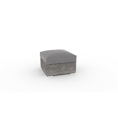 Modulo Slim Ottoman- Sunbrella Cast Slate 40434