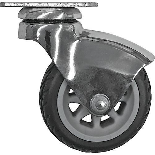 Designer Premium Series 3-inch Smooth Designer Caster, Racer, Rubber Tread