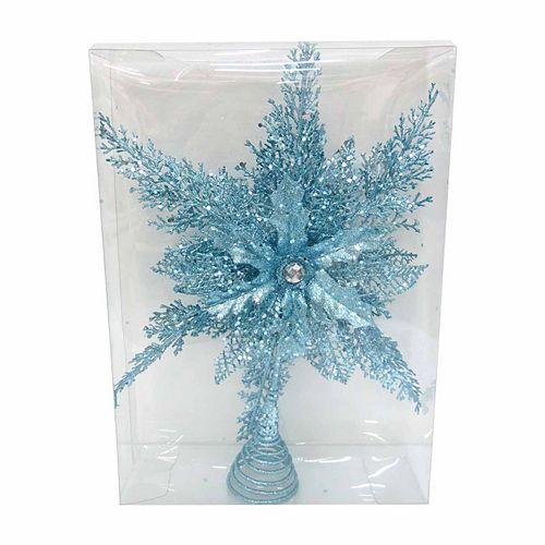 Blue Star Christmas Tree Topper