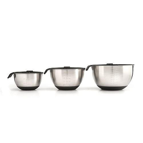 Napoleon 3-Piece Marinating Bowl Set