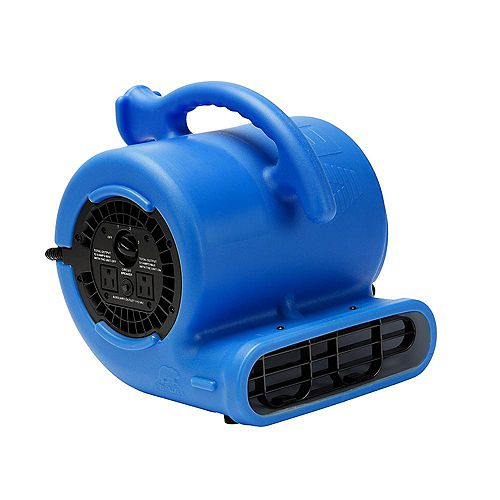 1/4 HP 900 CFM Air Mover Blue