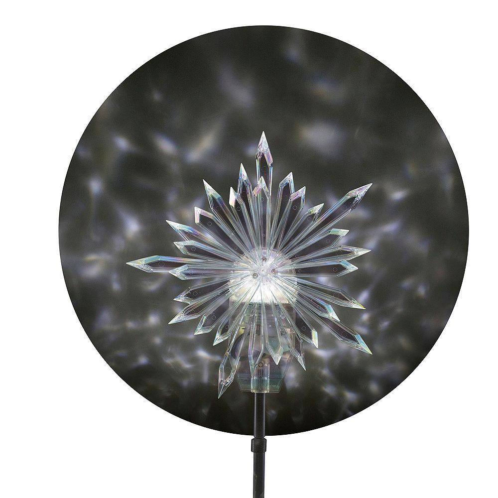 LightShow Décoration pour cime avec projecteur de jeux de lumière kaléidoscopiques