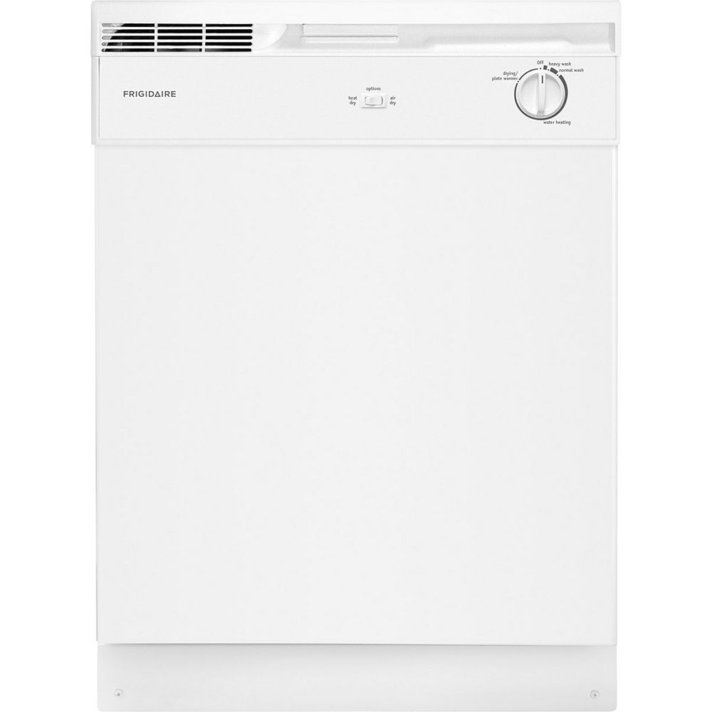 Frigidaire 24-inch Front Control Tall Tub Dishwasher in White