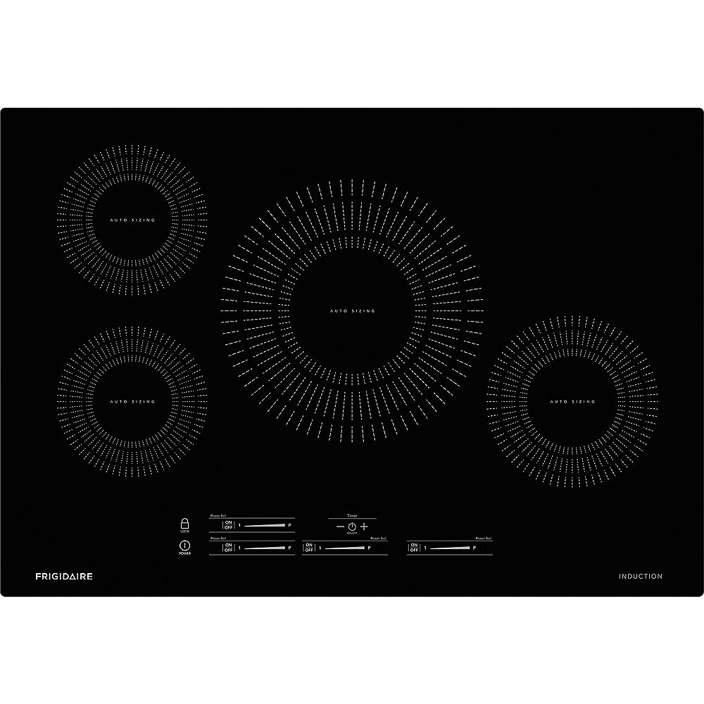 Frigidaire 30 Inch Induction Cooktop With 4 Elements In Black