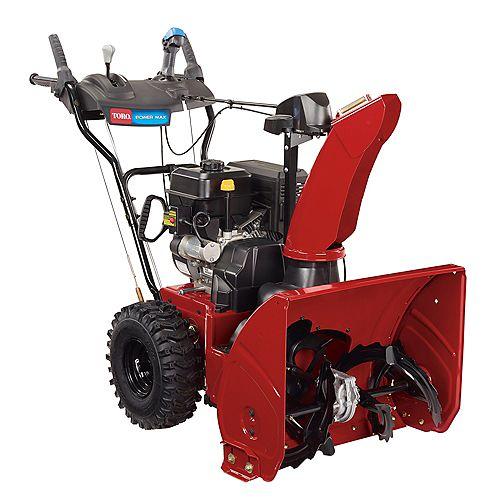 Souffleuse à neige à essence à 2 phases Power Max 824 OE avec démarreur électrique, 24 po