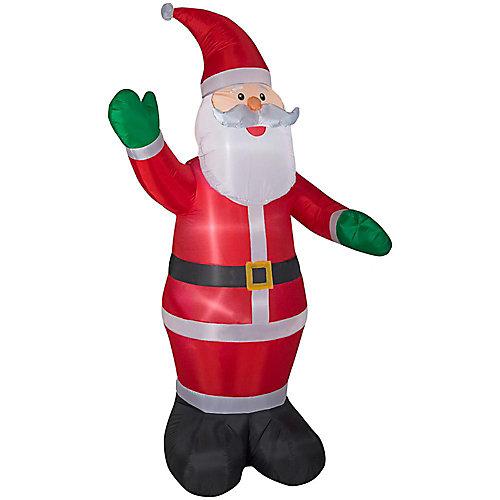 Père Noël gonflable, 8 pi