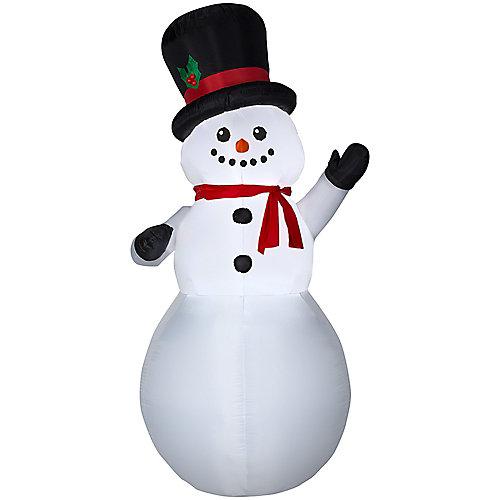 Bonhomme de neige gonflable, 9 pi