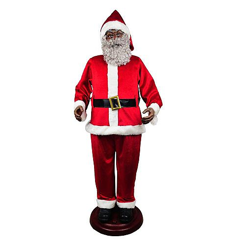 Père Noël de 72 pouces avec 3 chansons musicales