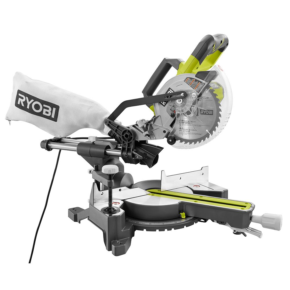 Ryobi 10 Amp 7 1 4 Inch Mitre Saw The Home Depot Canada