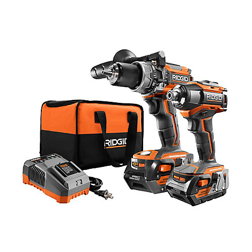 GEN5X 18V Lithium-Ion Brushless Cordless Hammer Drill and Impact Driver Kit