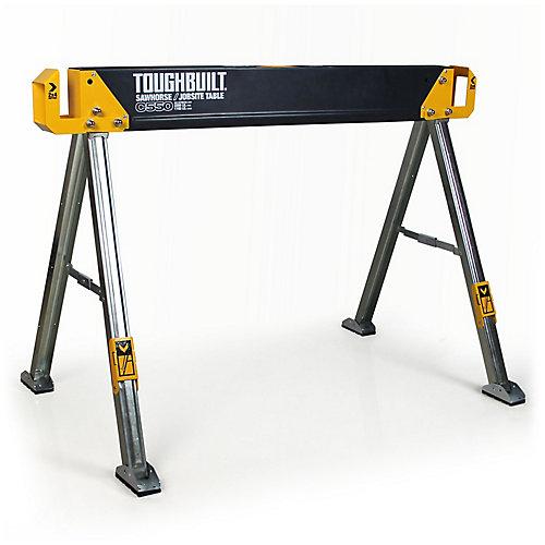 Chevalet de sciage/surface de travail pour le chantier C550