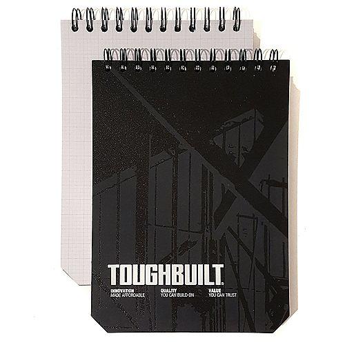 TOUGHBUILT Large Grid Notebooks (2-Pack)